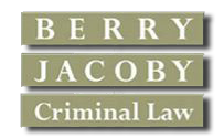 Berry Jacoby Criminal Law, Logo